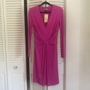 Beautiful NET Issa London Magenta Silk Dress